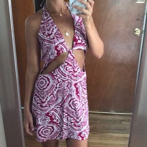 NWOT LF cut out dress